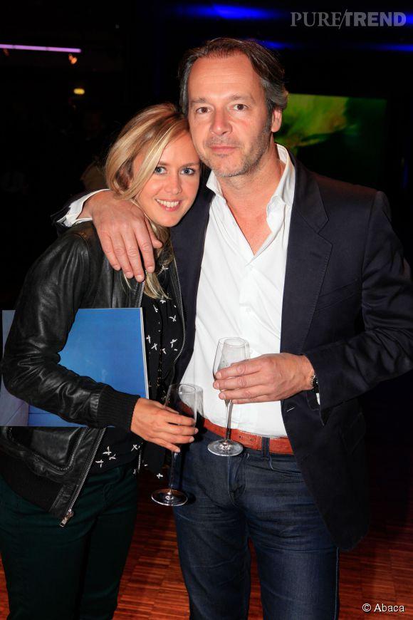 """Enora Malagré et Jean-Michel Maire, lui aussi chroniqueur dans l'émission """"Touche pas à mon poste"""" sur D8."""