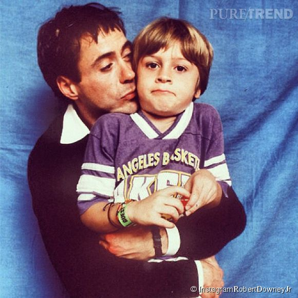 Robert Downey Jr est un vrai papa poule, il compte bien sortir son fils Indio de l'enfer de la drogue.