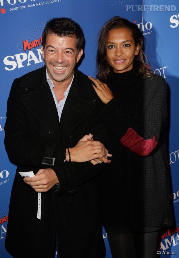 Stéphane Plaza et Karine Le Marchand sont inséparables.