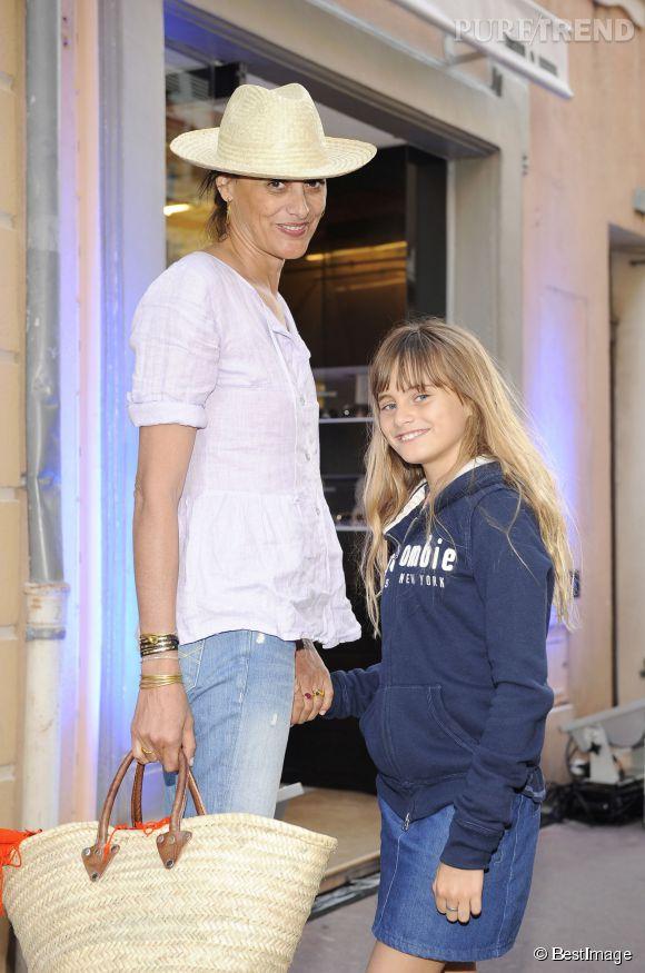 Inès de la Fressange et Violette d'Urso en 2009.