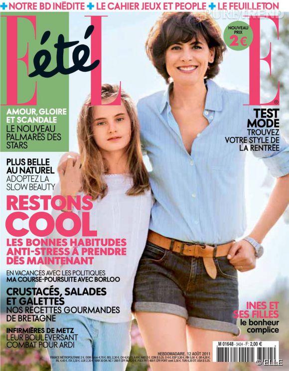 Violette d'Urso et Inès de la Fressange pour ELLE.
