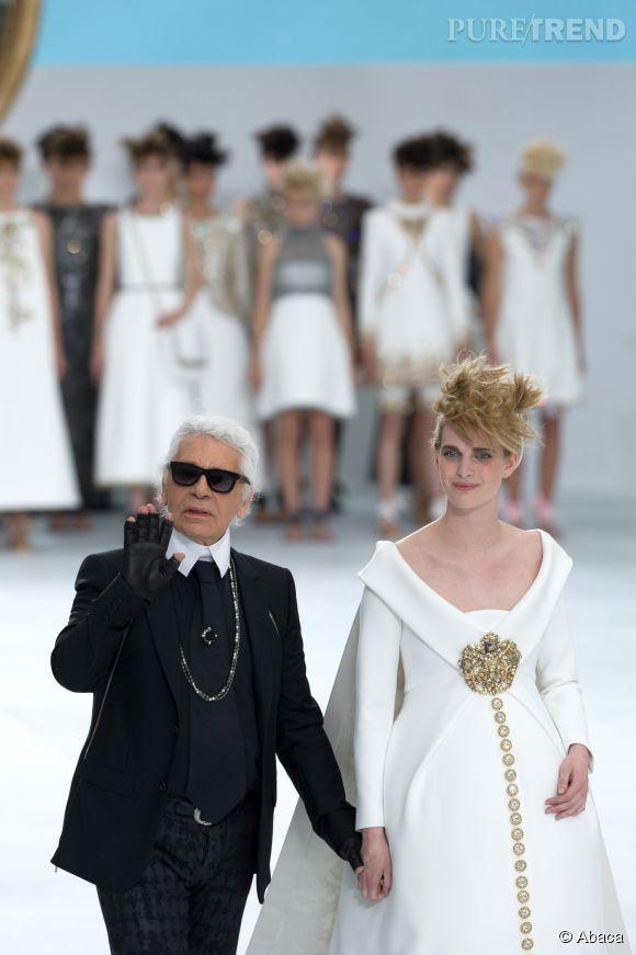 Défilé Chanel Haute Couture Automne-Hiver 2014/2015.