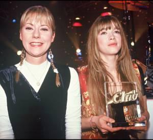 Hélène et Dorothée à la belle époque, en 1993.