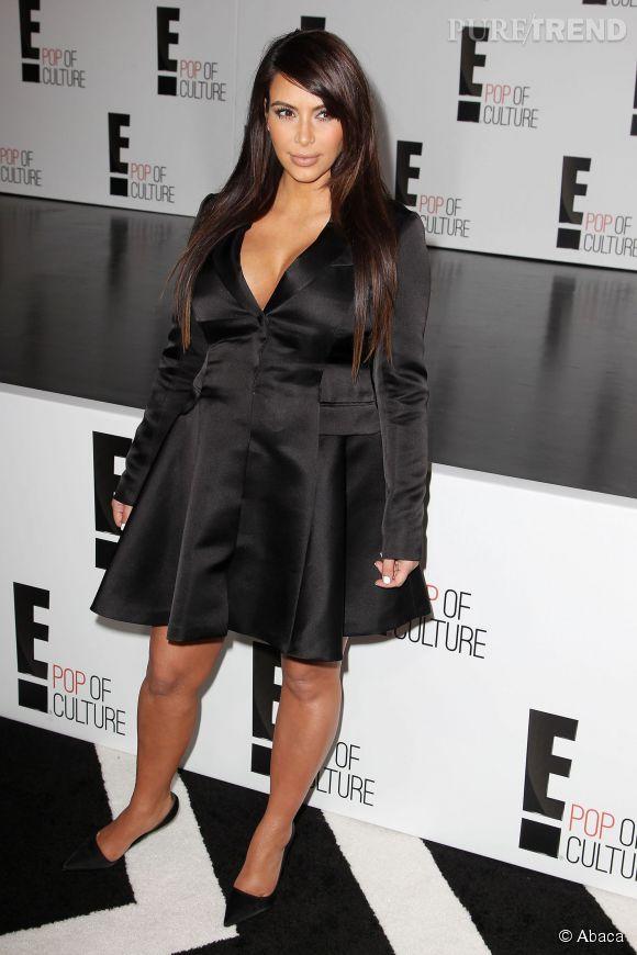 Kim Kardashian enceinte, était à tous les events privés.