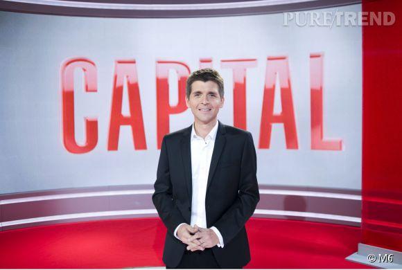 Thomas Sotto laisse la présentation de Capital sur M6 à François-Xavier Ménage.
