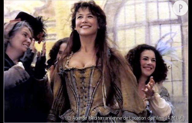 """Sophie Marceau dans """"La Marquise""""."""