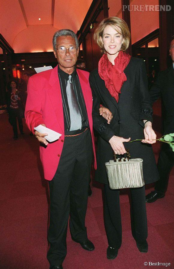 Julie Andrieu et Jean-Marie Périer en 2001.