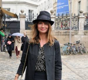 Axelle Laffont à la Fashion Week en 2014.