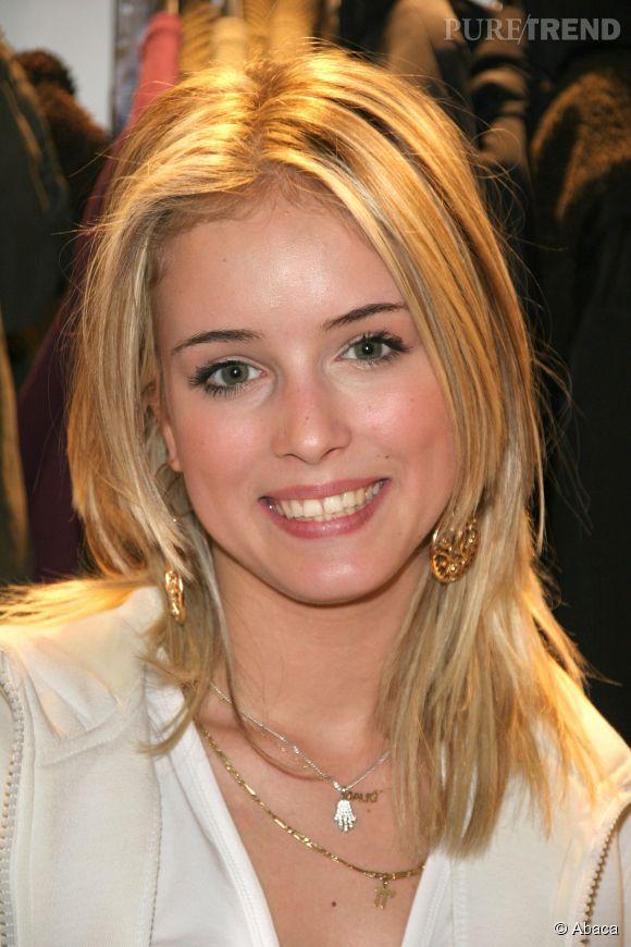 """Maud Verdeyen, ici en février 2006, s'est faite connaître en participant à l'émission """"Star Academy 5""""."""