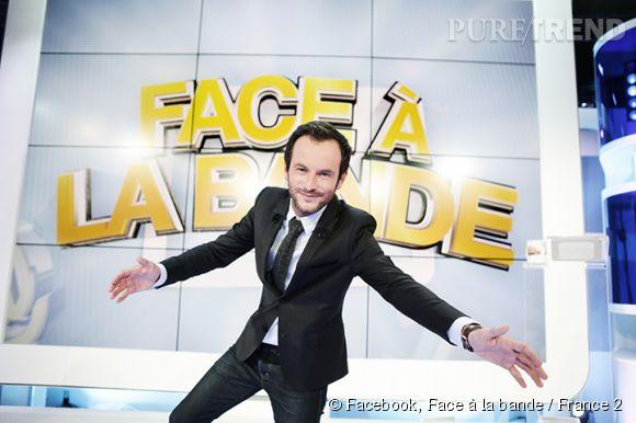"""Jérémy Michalak présente """"Face à la bande"""" à partir de ce soir sur France 2."""