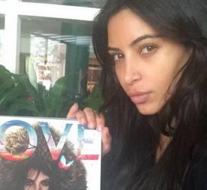 Kim Kardashian : sans maquillage et moue boudeuse, un selfie inhabituel