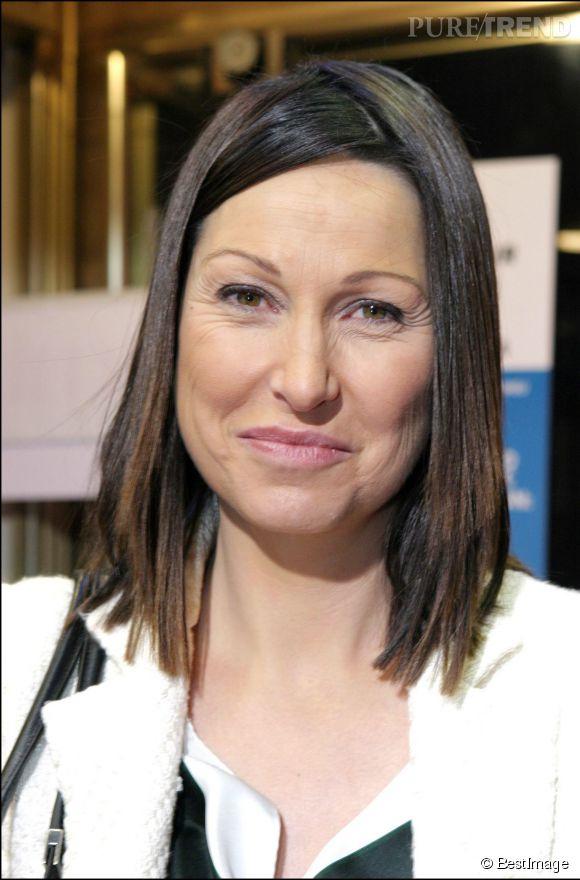 Evelyne Thomas à l'avant-première du film Podium dans lequel elle jouait son propre rôle en 2004.