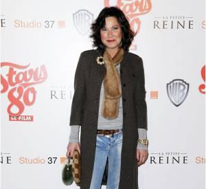Evelyne Thomas à l'avant-première du film Stars 80 au Grand Rex à Paris en 2012.