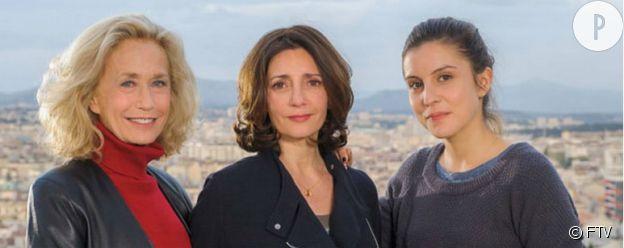 "Le casting de ""Jusqu'au dernier"" : Brigitte Fossey, Valérie Karsenti et Flora Bonaventura."