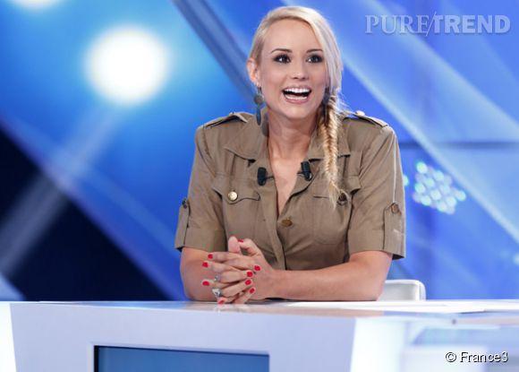"""Elodie Gossuin tient enfin sa revanche! Évincée de """"TPMP"""", elle serait pressentie pour rejoindre Jérémy Michalak à la rentrée sur  France 2 ."""