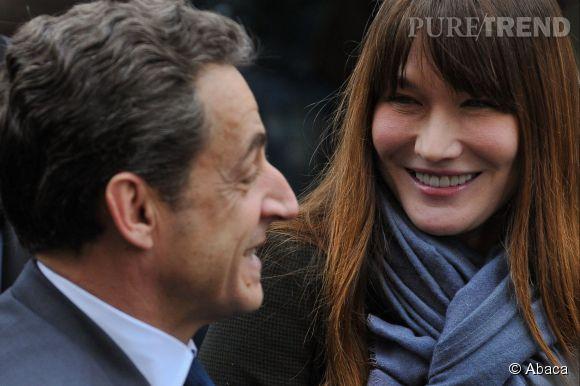 Carla Bruni et son Raymond, déjà plus de six ans de mariage.