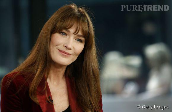 Carla Bruni, une éternelle amoureuse.