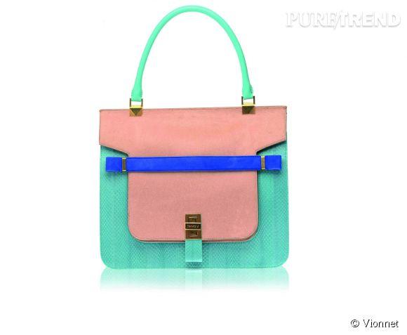 """""""Mosaic Bag"""" de Vionnet.Prix sur demande."""