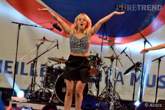 Alizée sur scène pour le RFM Summer Live le 4 juillet dernier. On espère qu'elle a apprécié ce moment parce que manifestement, elle n'est pas près de retrouver la scène de sitôt !