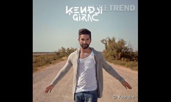 Kendji Girac, beau gosse sur la pochette de son disque sorti ce lundi 8 septembre.