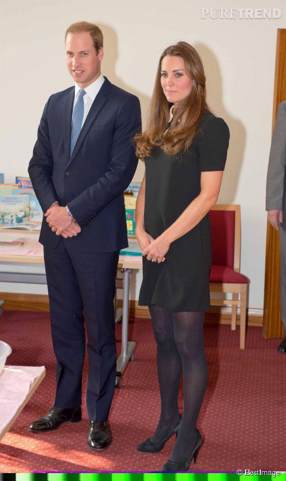 """Kate Middleton et le prince William visitent l'association """"Child Bereavement"""" à Saunderton le 19 mars 2013."""