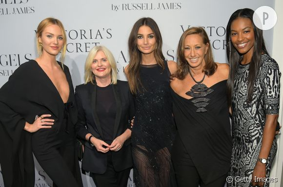 "Les tops Victoria's Secret lors du lancement du livre ""Angels"" de Russell James le 11 septembre à New York."