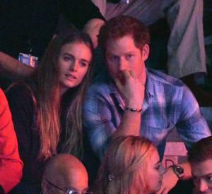 Le prince Harry et Cressida lors du We Day UK en mars 2014. Bientôt le retour du couple ?