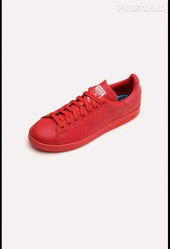 adidas stan smith pharrell williams rouge