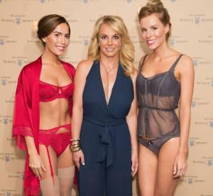 Britney Spears : sans soutien-gorge pour promouvoir sa ligne de lingerie !