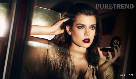Charlotte Casiraghi sublime pour la campagne de Gucci Beauty !