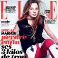 Ilona Smet en couverture de  ELLE  à seulement 17 ans en mars 2013.