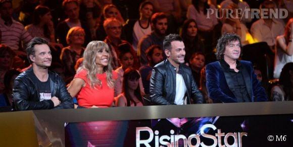 "Le jury de ""Rising Star"" est composé de David Hallyday, Cathy Guetta, Cali et Morgan Serrano."