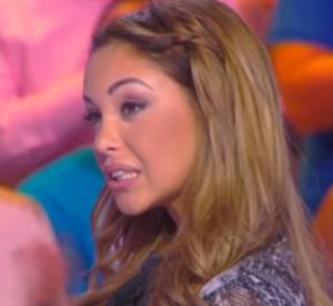 """Nabilla, vexée d'être confondue avec Zahia dans """"TPMP"""" hier soir."""