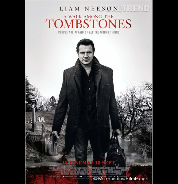 """Balade entre les tombes"" : rencontre avec Liam Neeson."