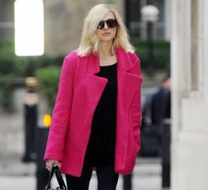 Fearne Cotton brille avec son boyfriend coat coloré.