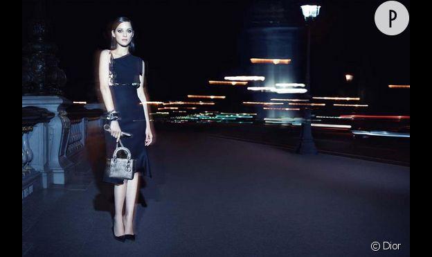 Marion Cotillard, Sublime pour la campagne lady Dior