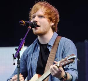 Ed Sheeran, cinq demandes en mariage durant son concert à l'O2 Arena à Londres.