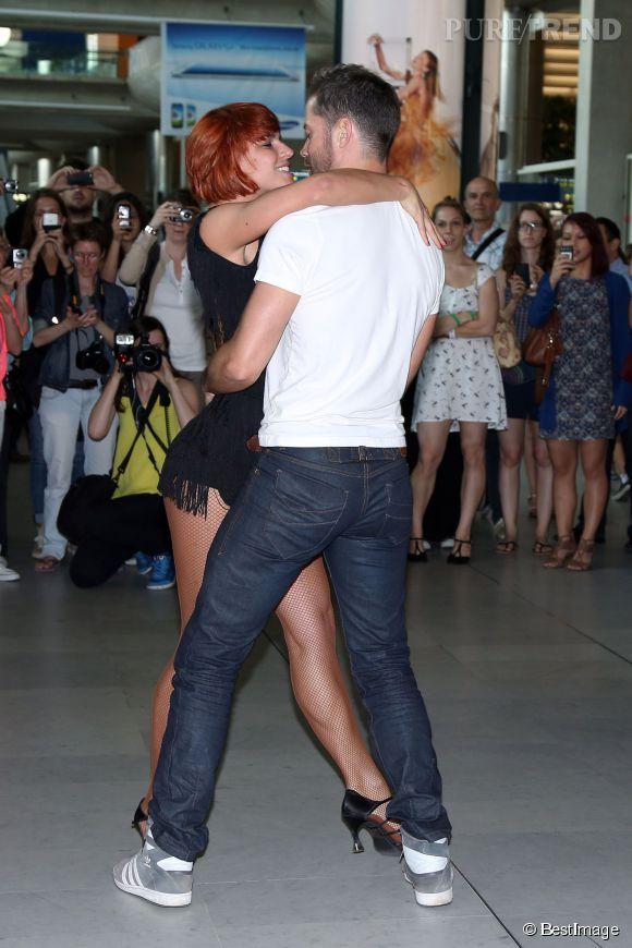 """Fauve Hautot et Emmanuel Moire ont été partenaires de danse lors de la saison 3 de """"DALS"""". Et c'est l'ancien """"Roi Soleil"""" qui est sorti gagnant de cette édition."""