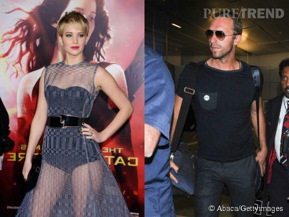 Jennifer Lawrence et Chris Martin c'est fini.