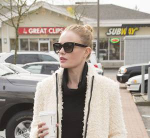 Kate Bosworth : la tenue rock'n'roll et le manteau mouton dont on rêve !