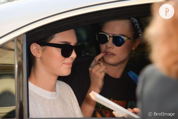 Cara Delevingne et Kendall Jenner top models et amies.