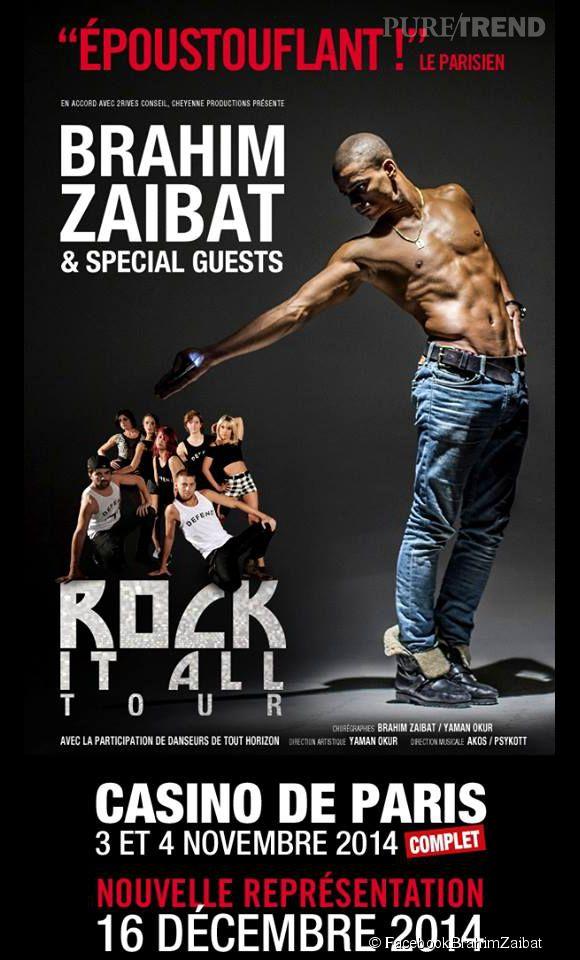 """Brahim Zaibat présentait le 4 et 5 novembre son nouveau spectacle de danse """"Rock it all"""". Un show qui n'a pas laissé son public indifférent..."""