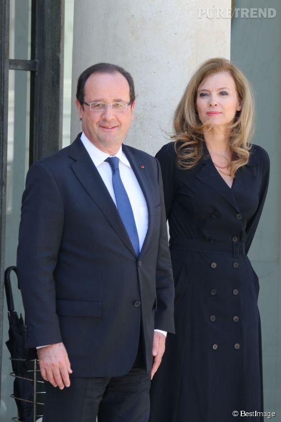 Valérie Trierweiler et François Hollande, une histoire qui appartient au passé.