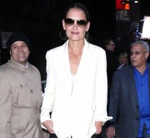 Katie Holmes : allure black & white glamour... À shopper !