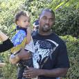"Kanye West chante ""Only one"" pour North."