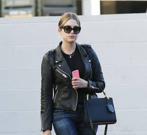 Ashley Benson : skinny et perfecto, la combinaison gagnante... À shopper !