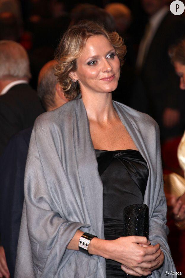 Charlène Wittstock devenue princesse de Monaco et maman.