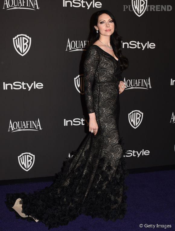 Laura Prepon lors de l'after party WB InStyle Golden Globe au Hilton de Beverly Hills le 11 janvier 2015.