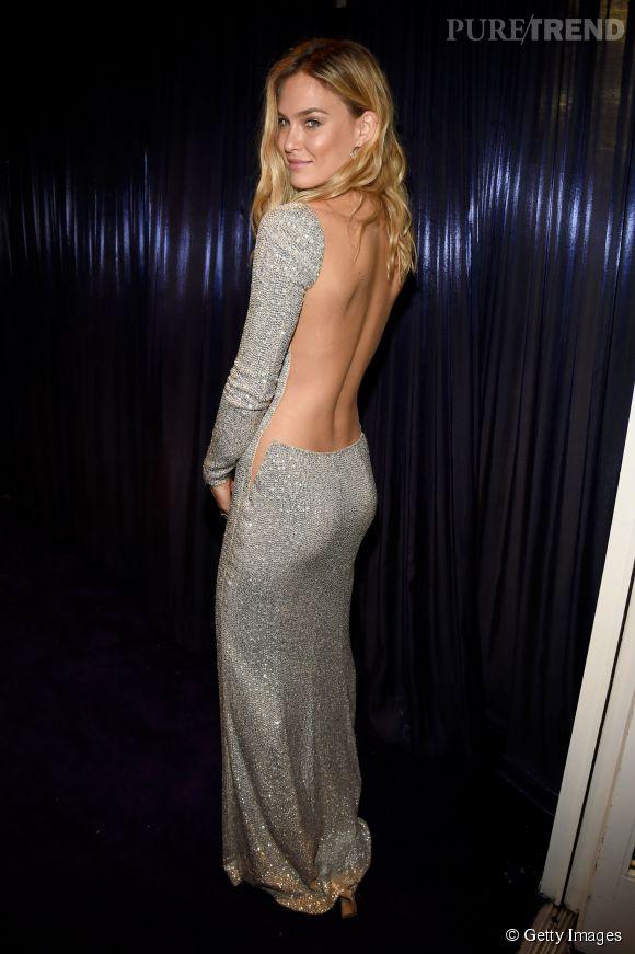 Bar Refaeli lors de l'after party WB InStyle Golden Globe au Hilton de Beverly Hills le 11 janvier 2015.