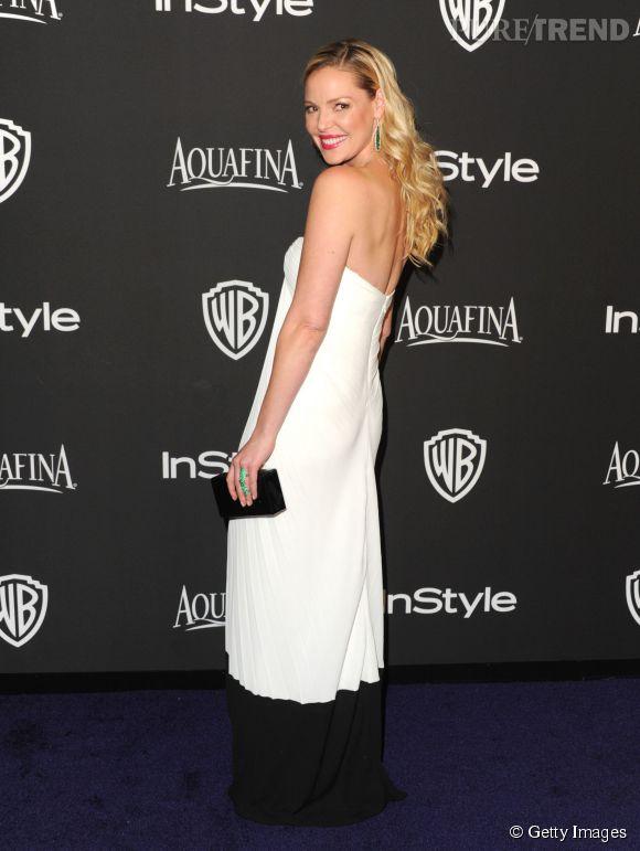 Katherine Heigl lors de l'after party WB InStyle Golden Globe au Hilton de Beverly Hills le 11 janvier 2015.